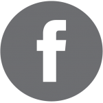 Facebook Logo - Grey