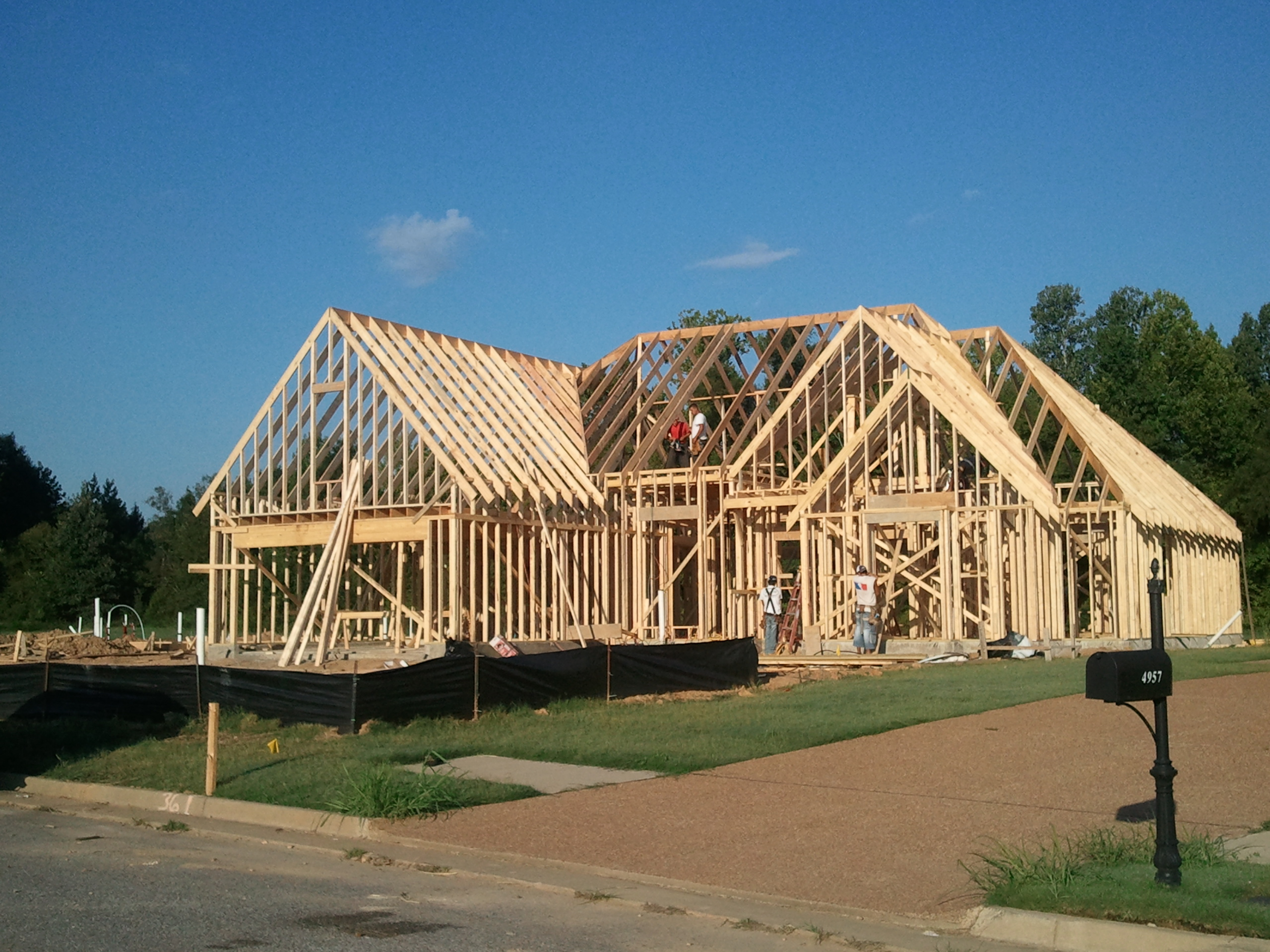 Lisa southernnew home construction is about to explode for New home structure