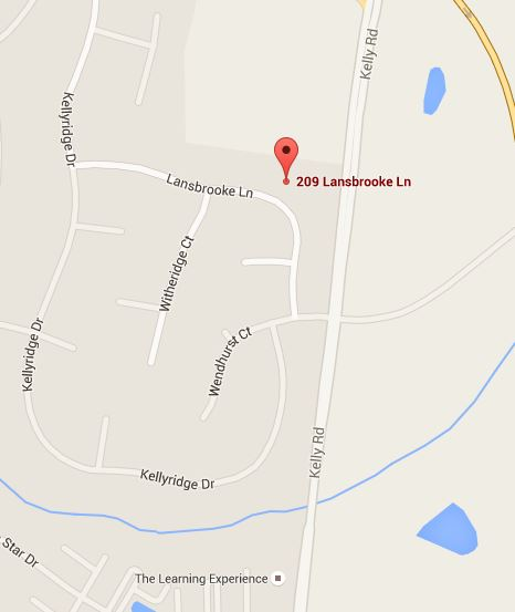 209 Lansbrooke Ln Map