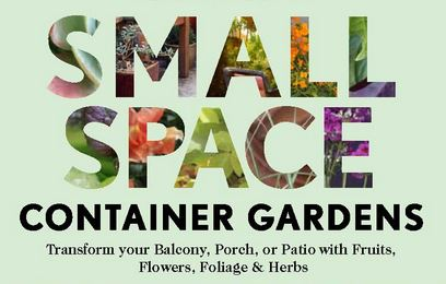 Small space container gardening
